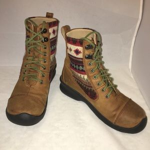 Keen Women's Lace Boots size US 5 (EU 35, UK 2.5)